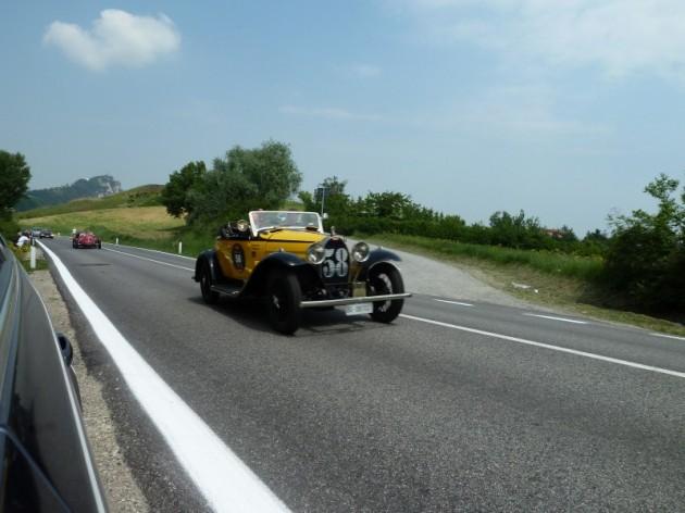 Bugatti Type 40A (1930) - Frascari (IT) en Teneggi (IT)