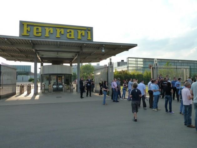 Ingang Ferrari fabriek