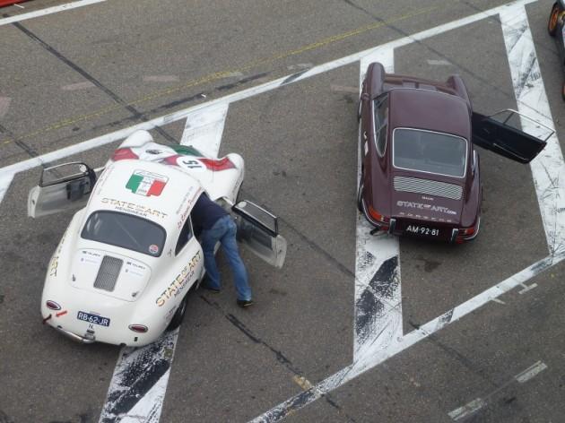 State of Art Porsche 356 B1 en 911S