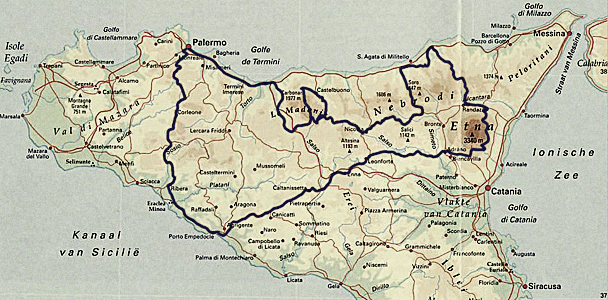 SiSicilia, 17 april tot 23 april 2012