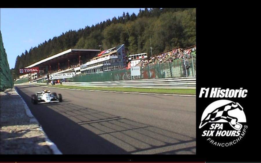 F1 Historic – Eau Rouge-express