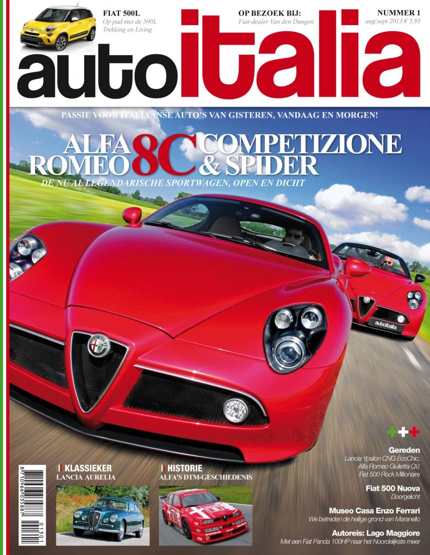 De allereerste AutoItalia. Nu in de kiosk!