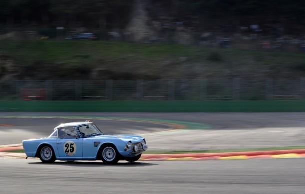 Spa Six Hours 2013 - Triumph TR4