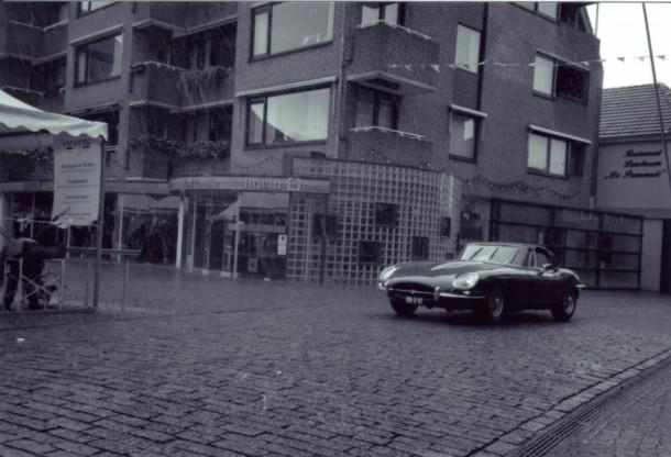 Klassiekerrally 2001 - Jaguar E-Type 4.2 cabriolet