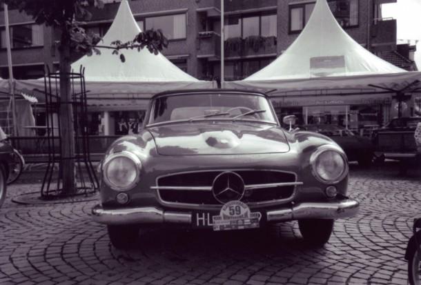 Klassiekerrally 2001 - Mercedes-Benz 190SL