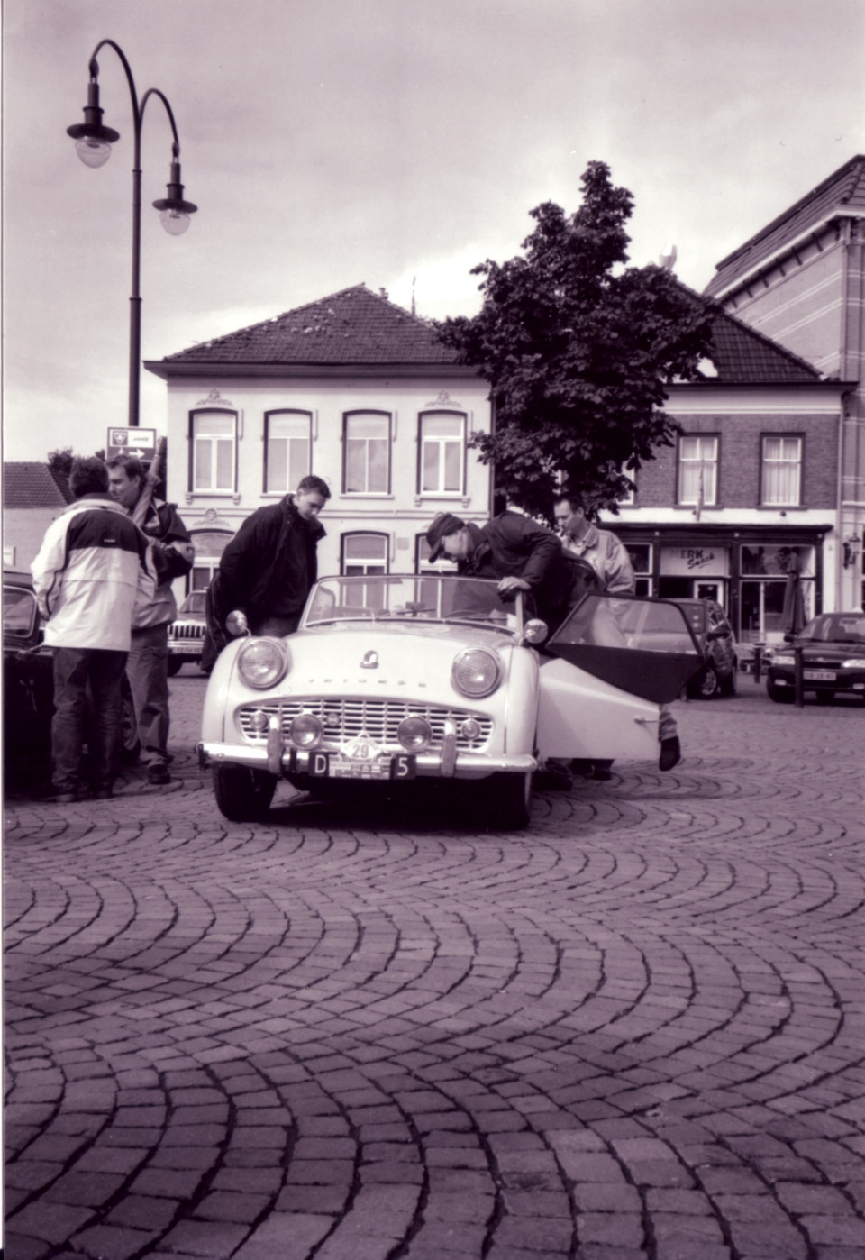 Klassiekerrally 2001 - Triumph TR3A