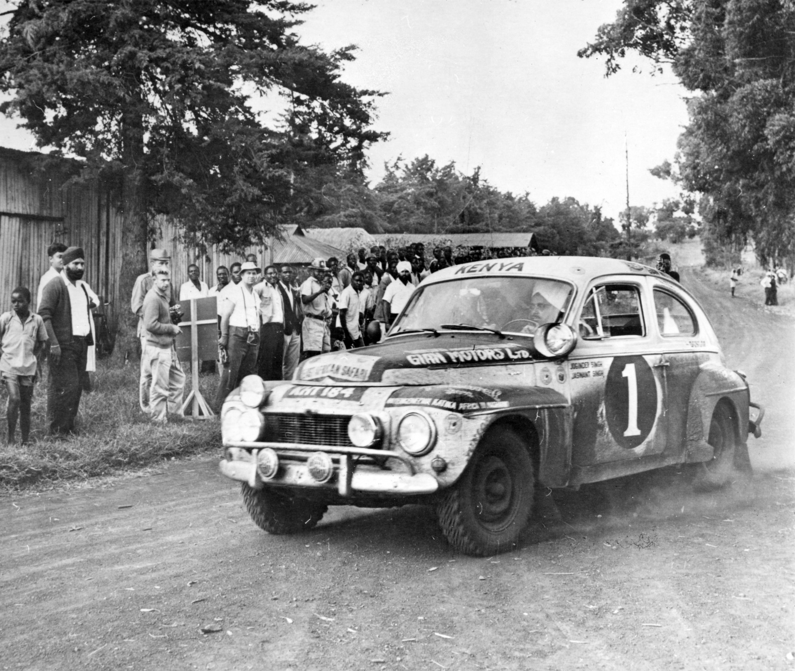 Volvo Katterug wint Safari Rally – in 1965