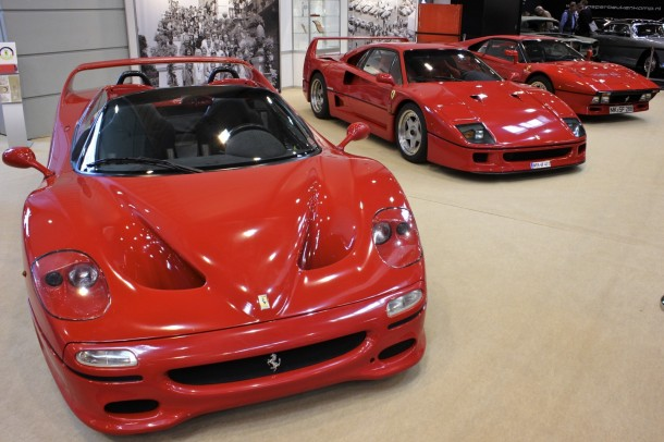 Techno Classica 2015 - Ferrari F50, Ferrari F40, Ferrari 288 GTO