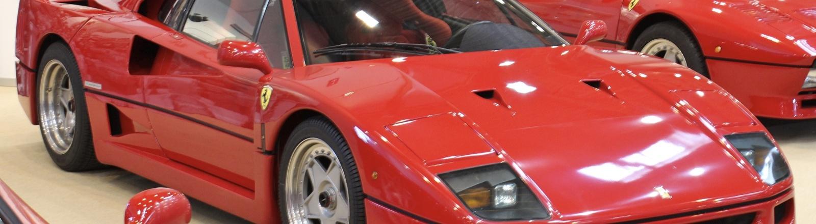 Techno Classica 2015 - Ferrari F40 (omslagfoto)