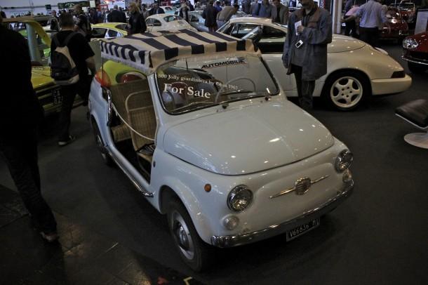 Techno Classica 2015 - Fiat 500 Jolly