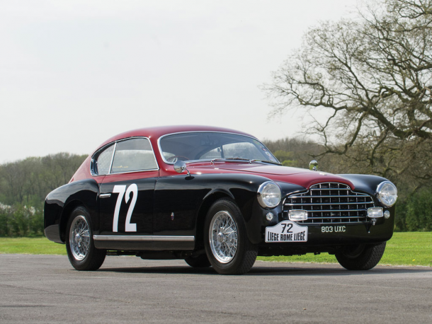 1950 Ferrari 195 Inter Berlinetta by Ghia